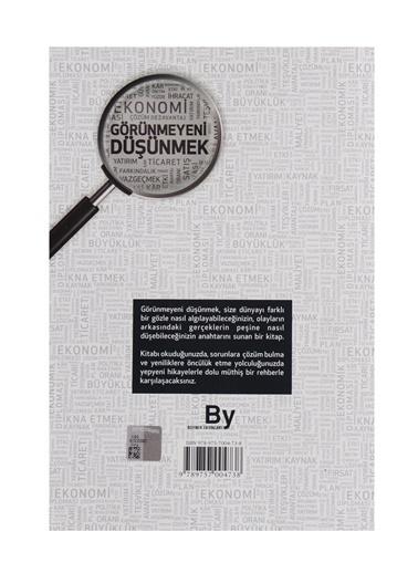 Boyner Yayınları Boyner Yayınları - Görünmeyeni Düşünmek Renksiz